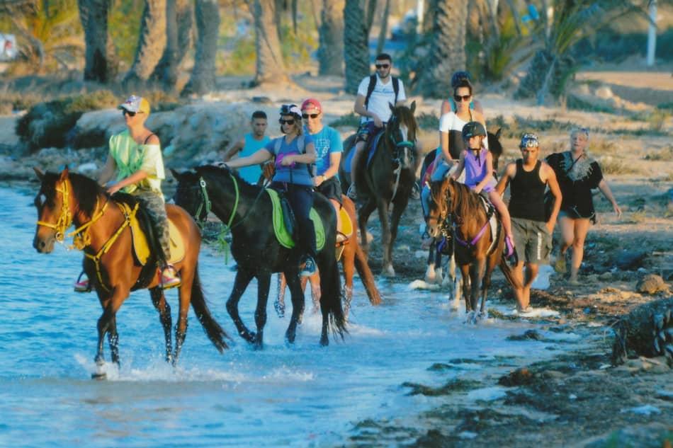 balade a cheval Djerba