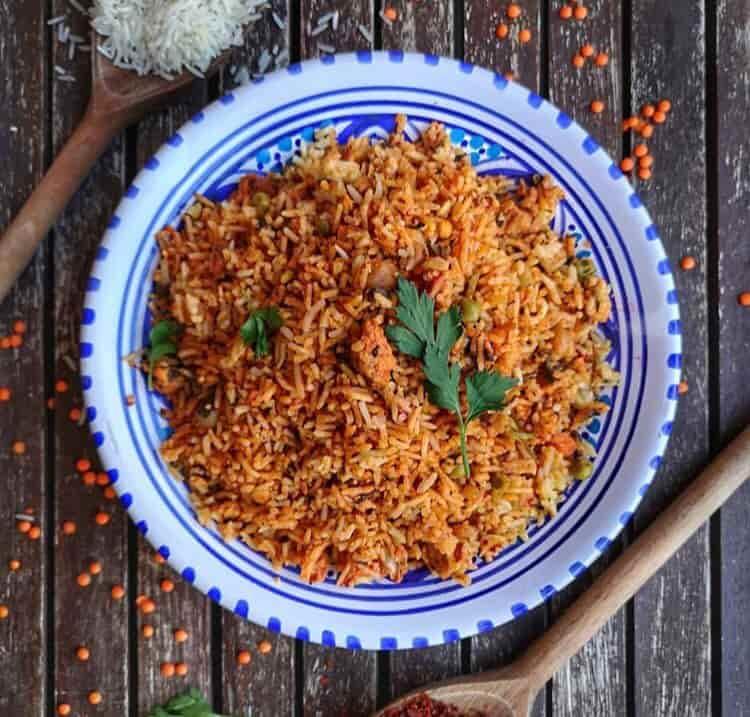 plats de djerba riz djerbien