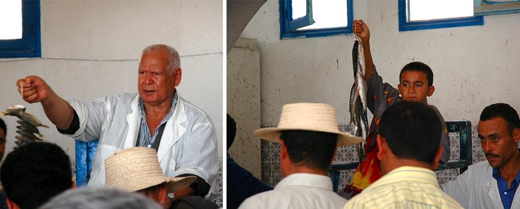 marché de poisson de Djerba