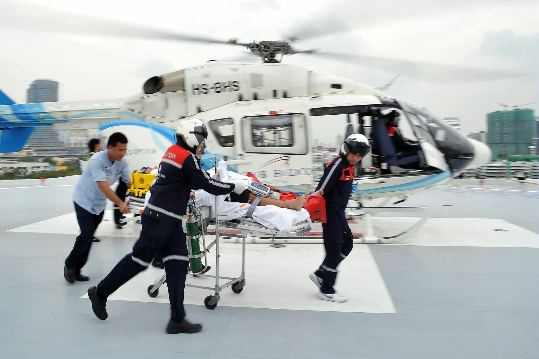 transport médicale assurance voyage